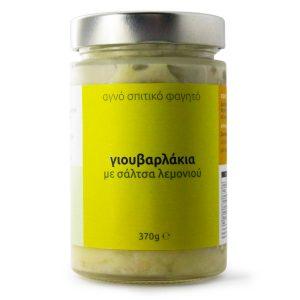 Γιουβαρλάκια με σάλτσα λεμονιού